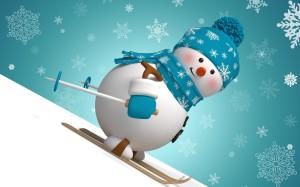 43-снеговик_картинки